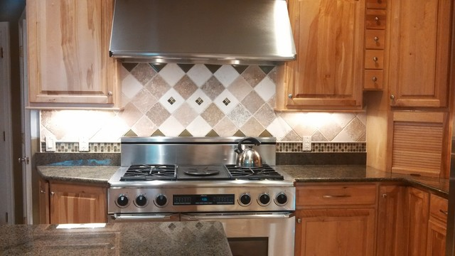 Tile project in boyds for Traditional kitchen equipments