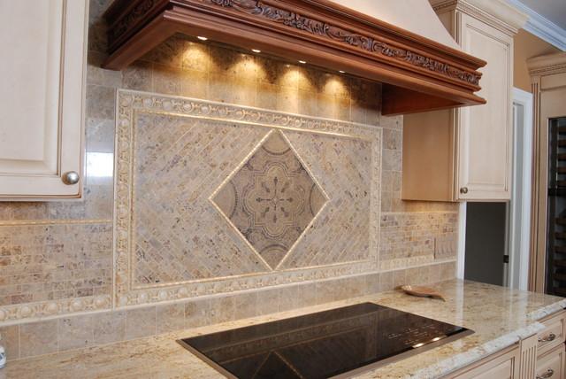 Tiled Backsplashes traditional-kitchen