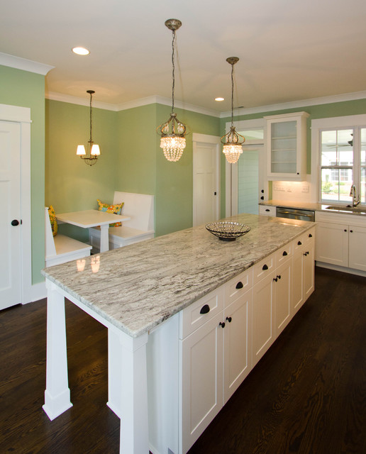 tilley custom home traditional-kitchen