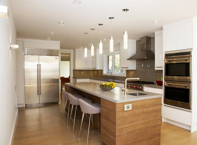 Timberlane Renovation contemporary-kitchen