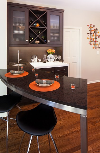Time for a Change contemporary-kitchen