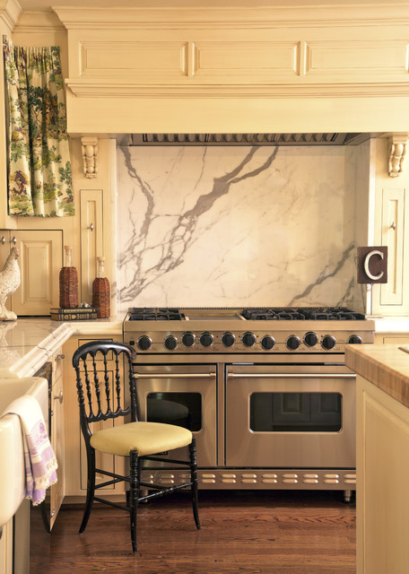 Timeless Appeal with Modern Appliances traditional kitchen