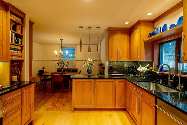 Timeless Cherry traditional-kitchen