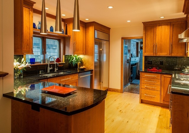 Timeless Cherry Traditional Kitchen Boston By Today 39 S Real Kitchen Design Company