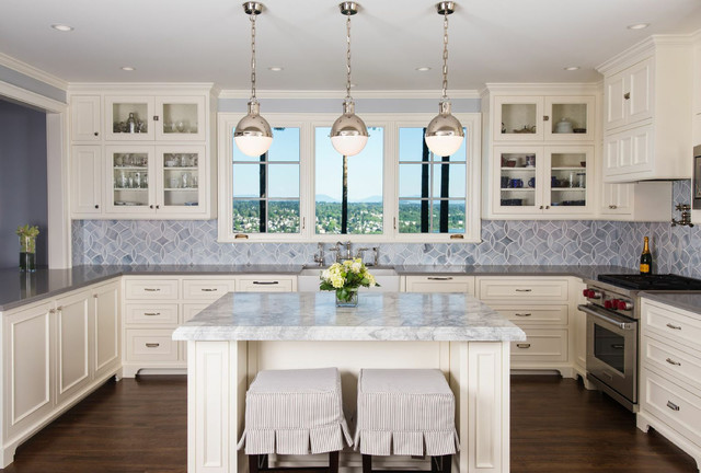 Timeless French Country Kitchen Traditional Kitchen Seattle By Ripple Design Studio Inc
