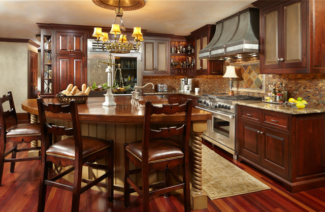 Timeless Tudor Estate traditional-kitchen