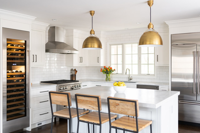 How Much Room You Need For A Kitchen Island Houzz Au