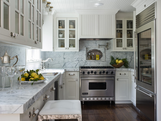 Timeless White Kitchen Traditional Kitchen San Francisco By Seana Stockton Interiors