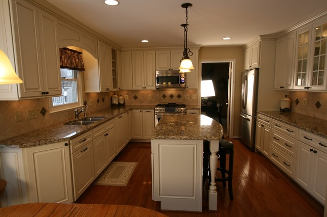 Timeless white Kitchen Update - Traditional - Kitchen - DC ...