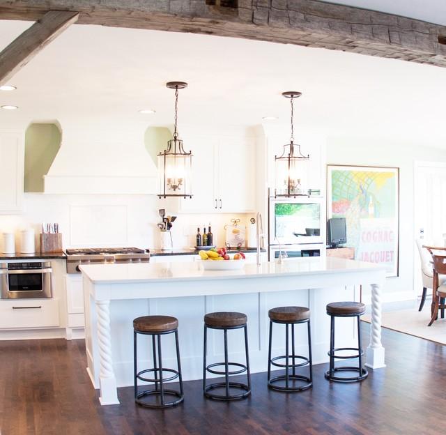 Timeless white kitchen traditional kitchen milwaukee for London kitchen decor