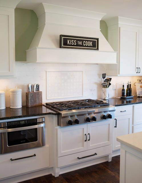 Timeless White Kitchen Traditional