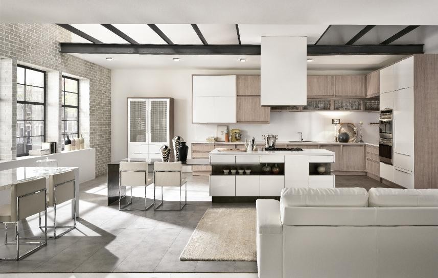 Inspiration for a contemporary kitchen remodel in New York