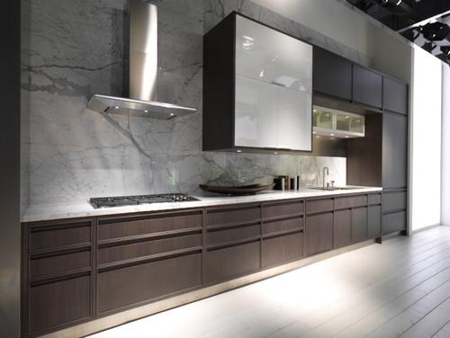 Concrete look porcelain tile design ideas 2015 | Home Art Tile Kitchen and Bath