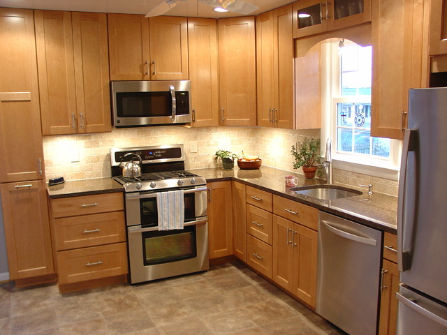 timonium l shaped kitchen traditional kitchen