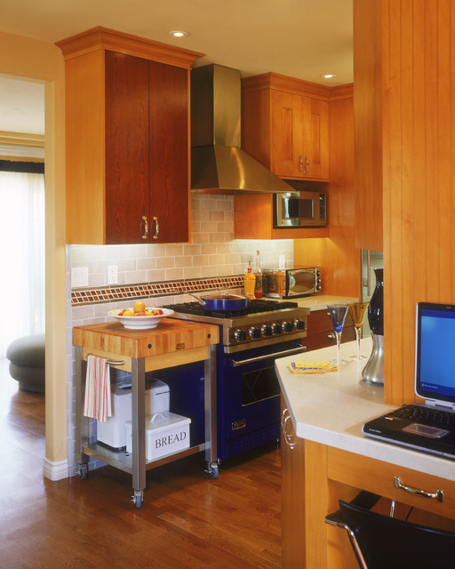 Tiny Beach Bungalow eclectic-kitchen