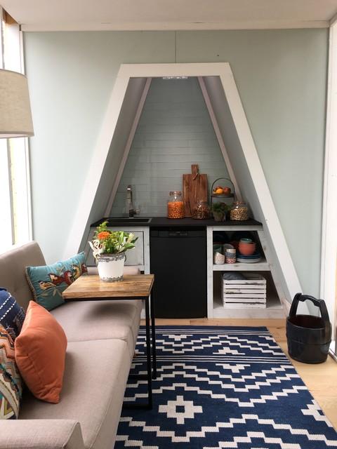 Tiny House A Frame Modern Kitchen Other By Christine Lakas