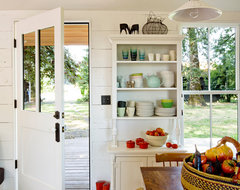 Tiny House farmhouse kitchen