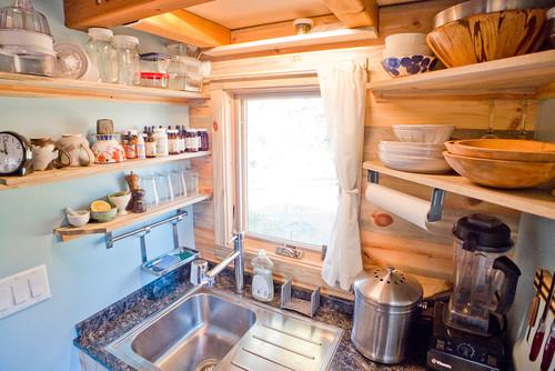 狭いキッチン収納術 ...