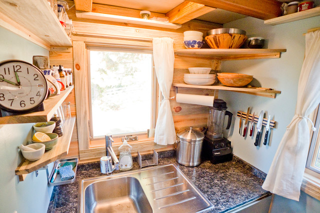 Tiny House Kitchen Sink contemporary kitchen