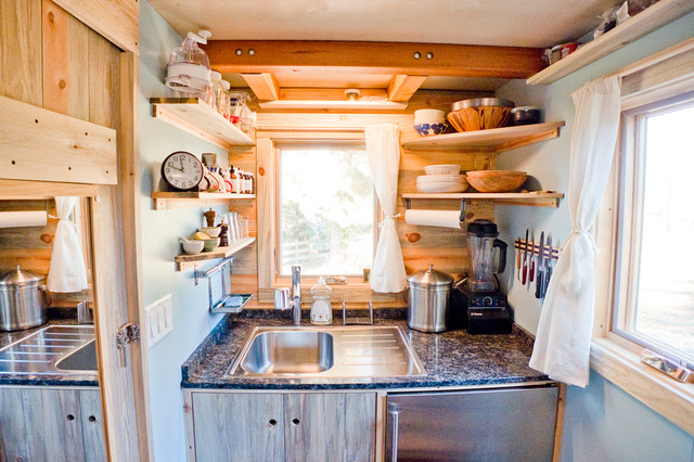 Tiny House Kitchen Modern Kueche