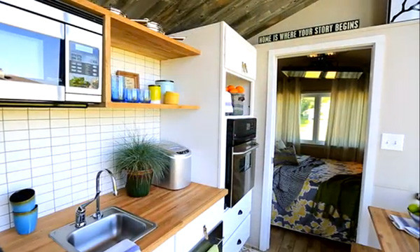 Tiny House Nation Modern Kitchen