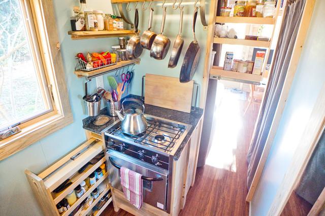 Tiny House Pantry Storage - Contemporary - Kitchen - San ...