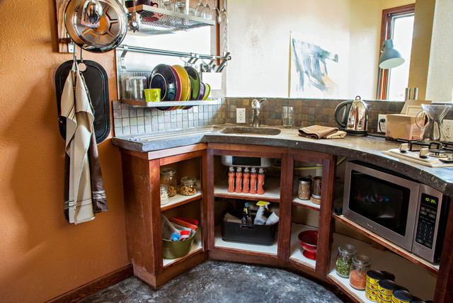 tiny house project transitional kitchen