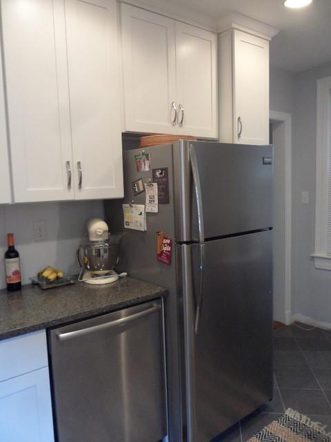 Tiny Townhouse Kitchen contemporary-kitchen