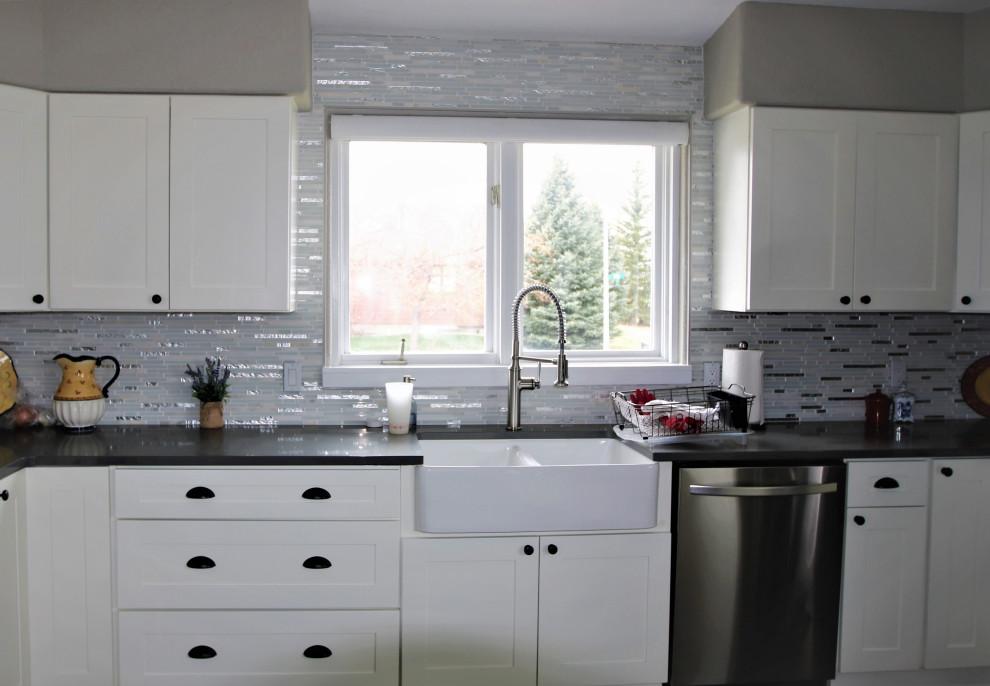 Tired Kitchen Gets Fresh Update - Transitional - Kitchen ...