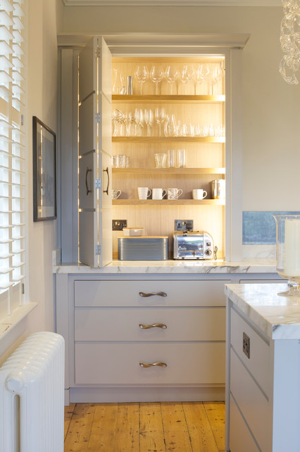 Tisbury House Transitional Kitchen Wiltshire By Guild Anderson Furniture Limited