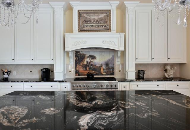 Titanium Granite Kichen Traditional Kitchen Dallas