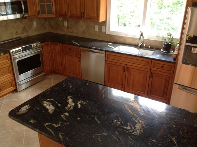 Titanium Kitchen - Traditional - Kitchen - atlanta - by E & D Granite City