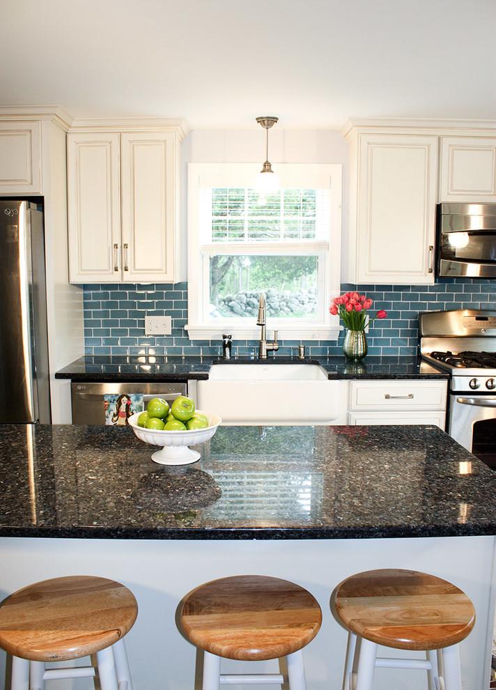 Tiverton RI - Beach Style - Kitchen - Boston - by ...