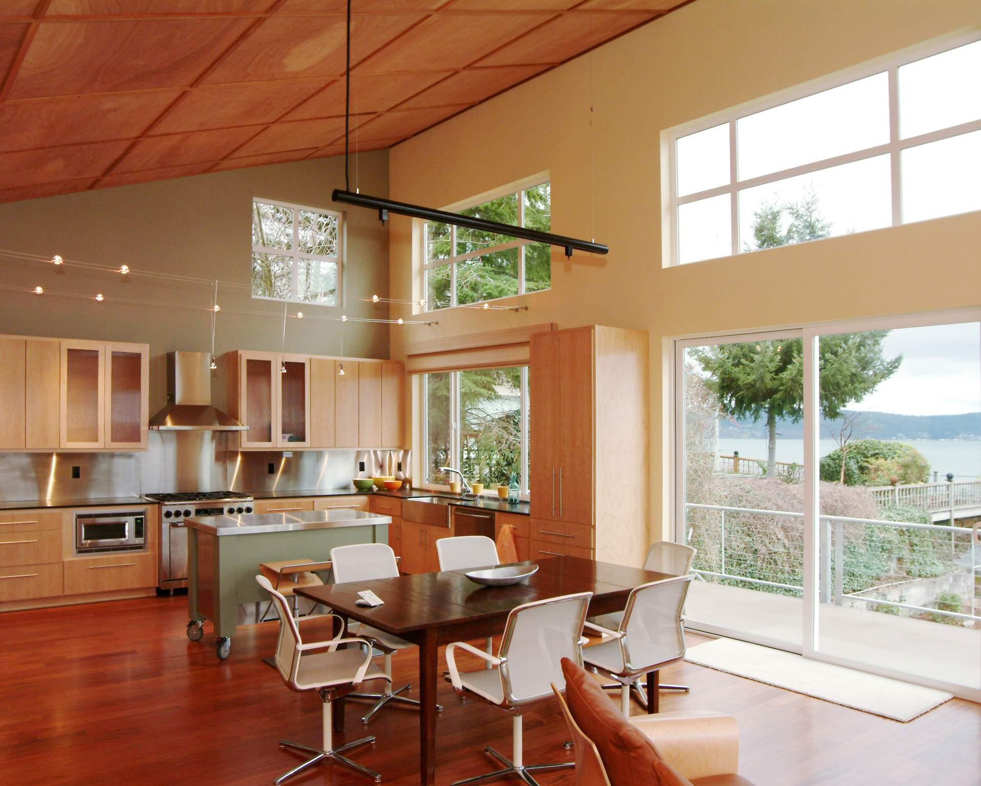 High Ceiling Kitchen Houzz
