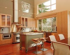 Tobin High Bluff Waterfront Remodel modern-kitchen