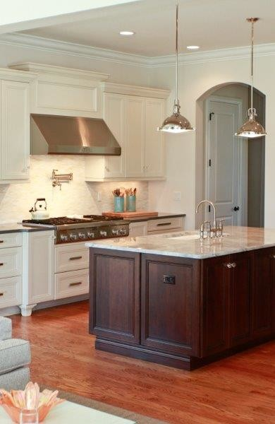 Todd and Lisa Gerlings Crestwoood Cabinets traditional-kitchen