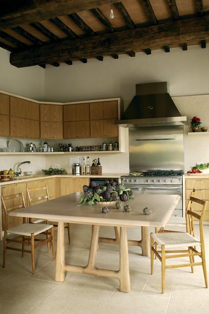 todi villa landhausstil k che london von alhadeff architects. Black Bedroom Furniture Sets. Home Design Ideas