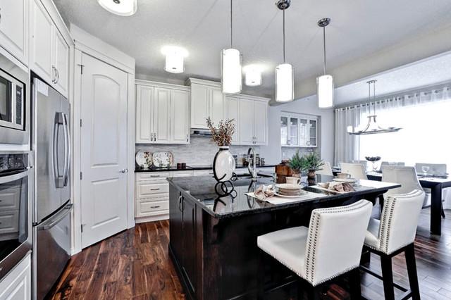 calgary alberta by shane homes contemporary kitchen calgary