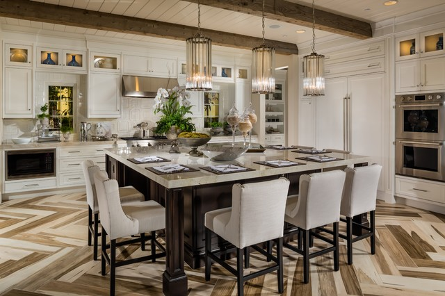 Toll Brothers at Hidden Canyon - Capri Collection transitional-kitchen