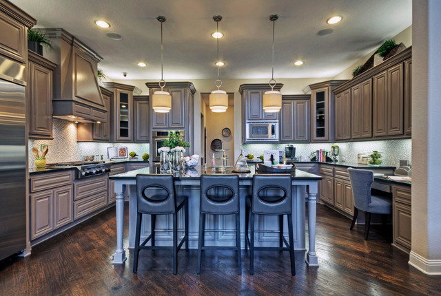 Toll brothers plano tx model contemporary kitchen for New model kitchen design