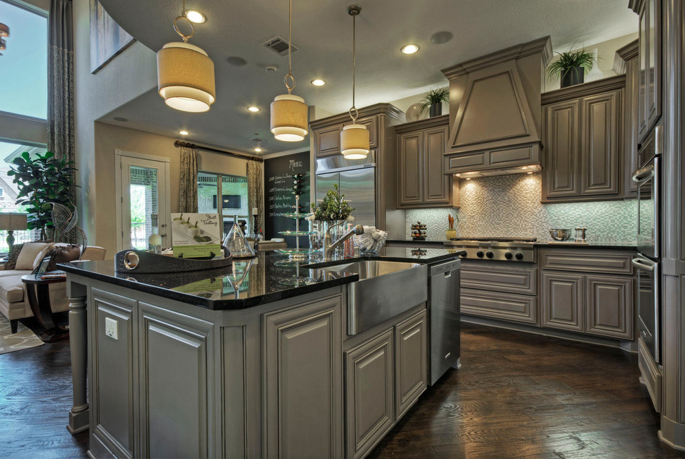 Toll Brothers Plano, TX Model - Contemporary - Kitchen ...