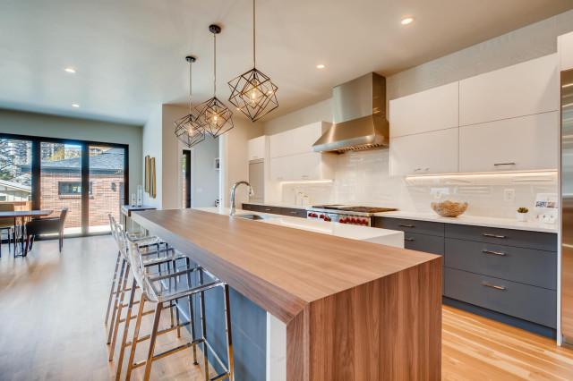Top 6 Kitchen Trends 2020 Minimalistisch Kuche Denver Von Virtuance Houzz