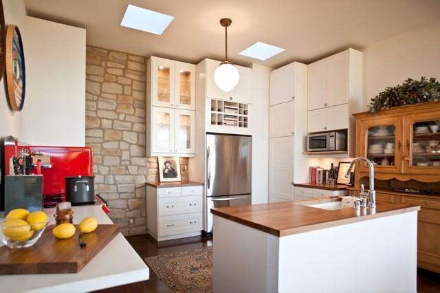 Topanga Pre-fab eclectic-kitchen