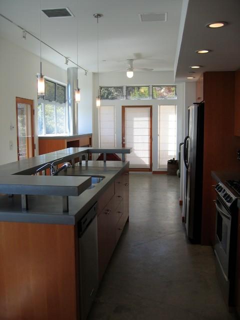 Topanga Retreat contemporary-kitchen