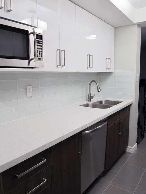 Toronto condo project modern kitchen other metro for Modern kitchen design toronto