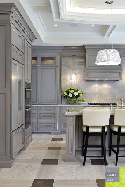 Toronto Custom Home Transitional Kitchen Toronto By My Design Studio Yasmine Goodwin