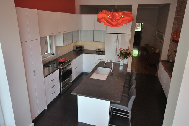 Toronto downtown house contemporary kitchen other for Interior designs by rhonda