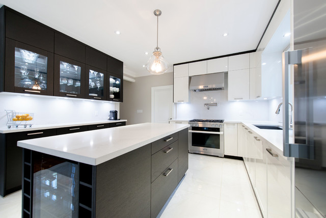 Toronto leicht kitchen contemporary kitchen toronto for Haus kitchens
