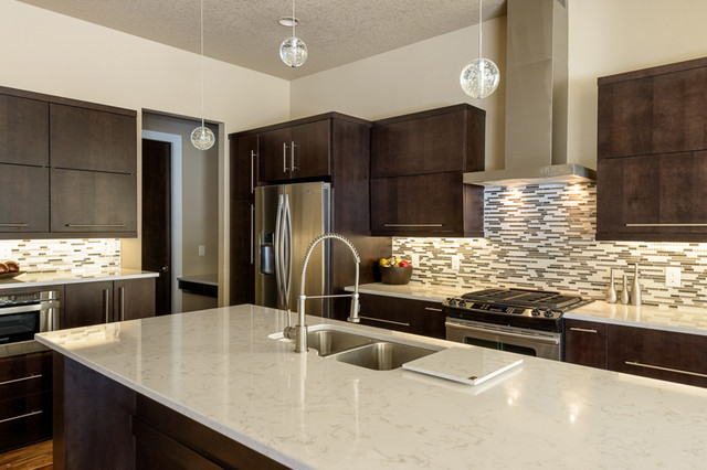 Torquay Kitchen - Modern - Kitchen - other metro - by Renaissance Granite & Quartz