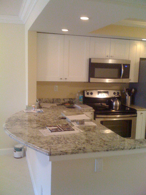Torrance Condo Renovation Contemporary Kitchen Other